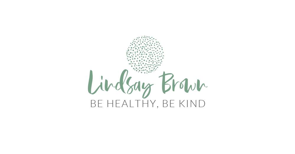 Lindsay Brown Premium Template Logo