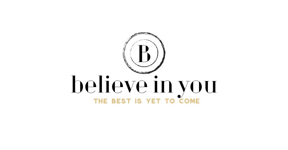 Believe in you logo