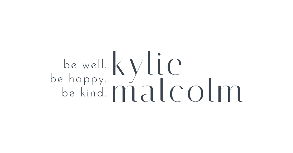 24 be kylie malcolm Paid Template Logo