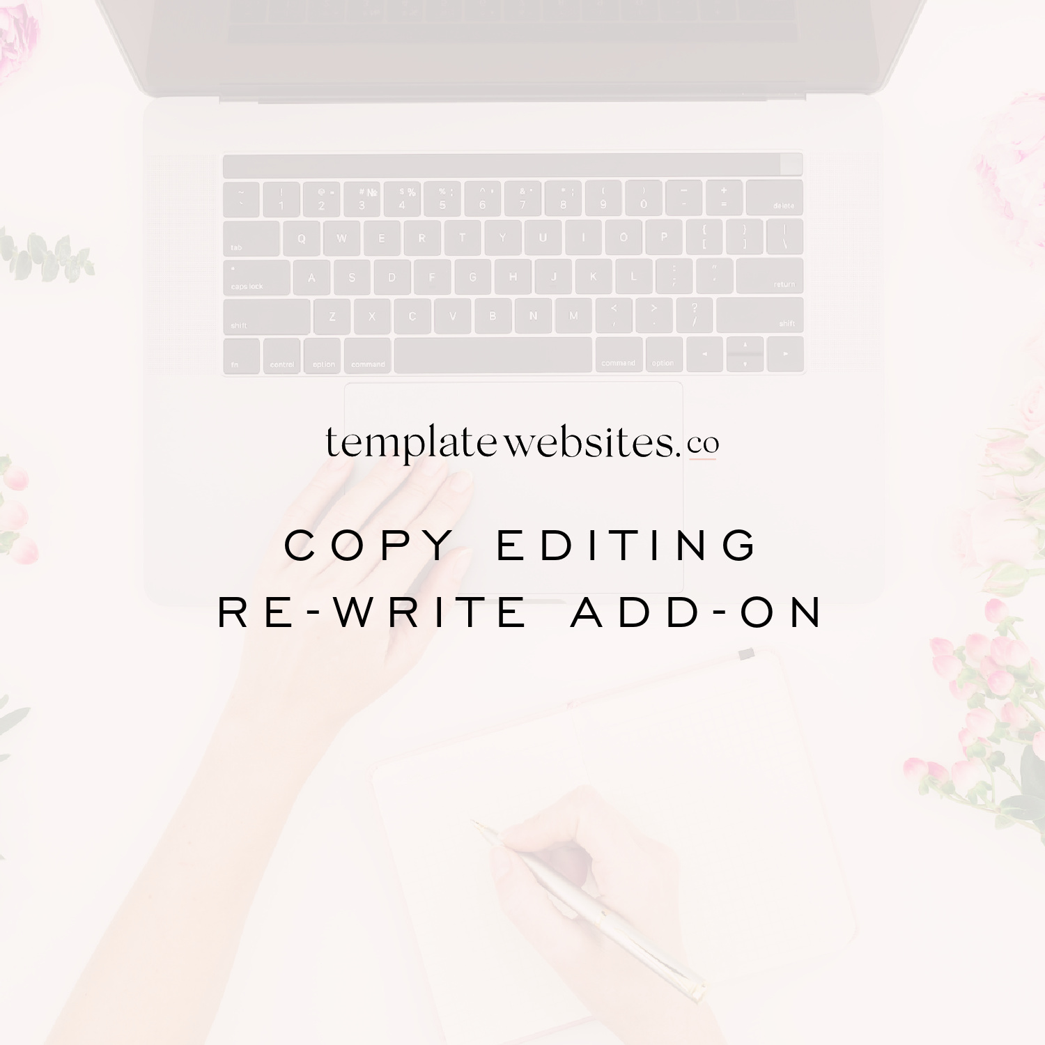 Copy editing add on for website design Sarah professional copywriting for coaches